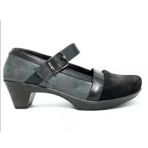 Naot Dashing Leather Ankle Strap Mary Jane Size 41